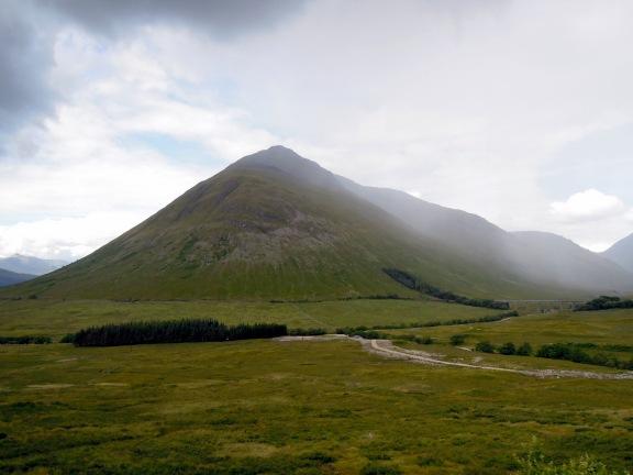 Pointy mountain