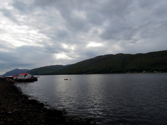 Crannog restaurant on Loch Linnhe