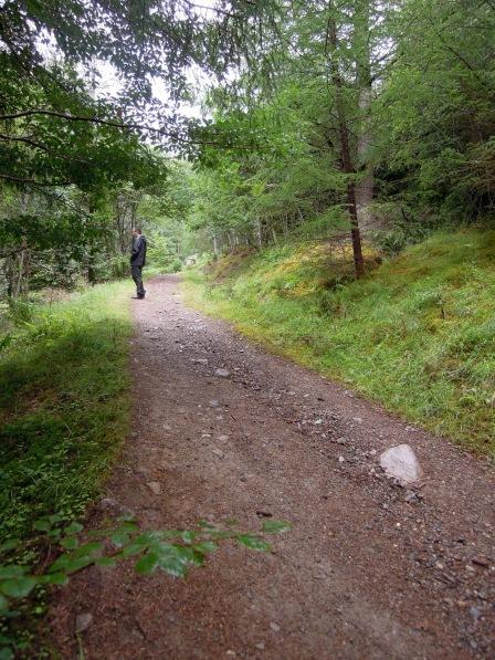 Erik along the trail