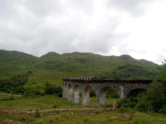Glenfinnan Viaduct from close by