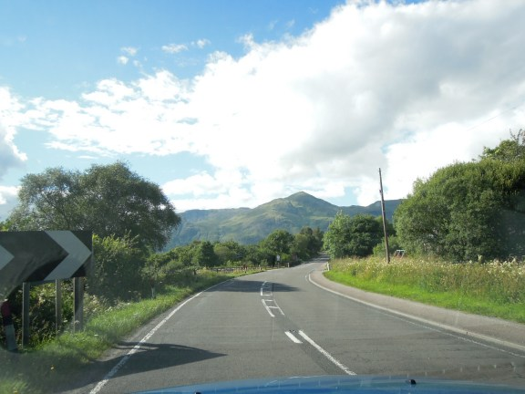 Along the road next to Loch Linnhe