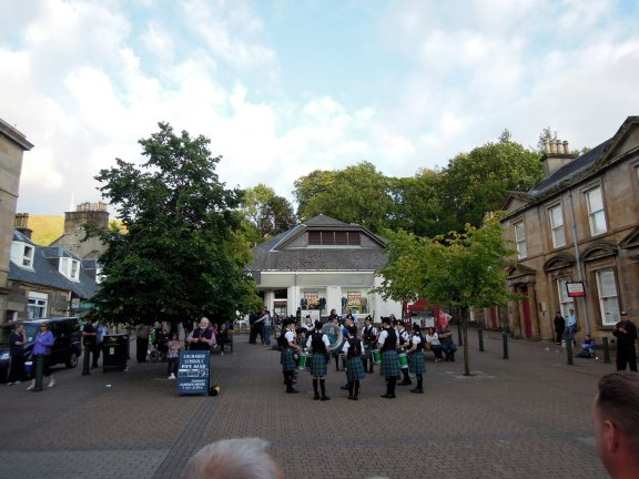 Youth bagpiping group