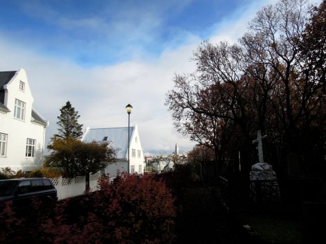 View of Hallgrímskirkja