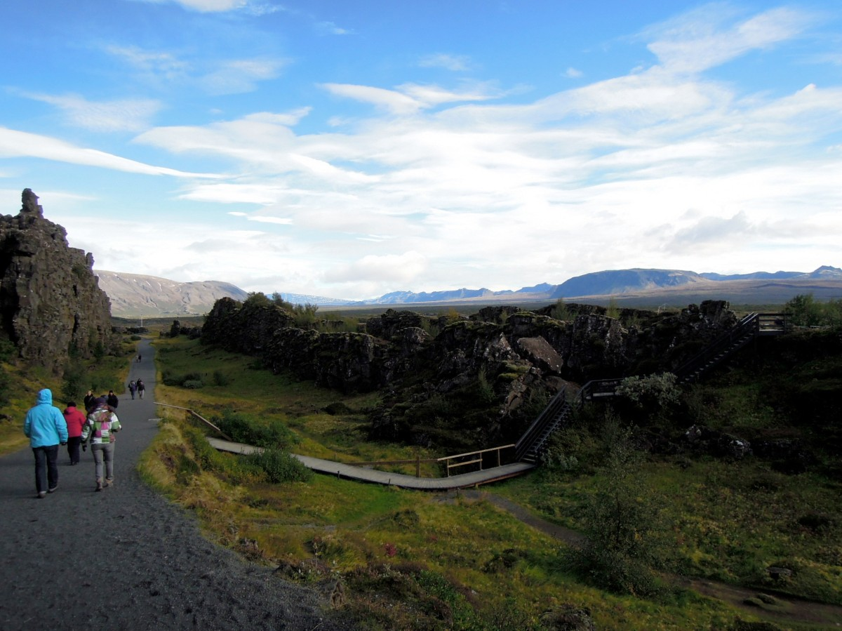 Trail and walkway