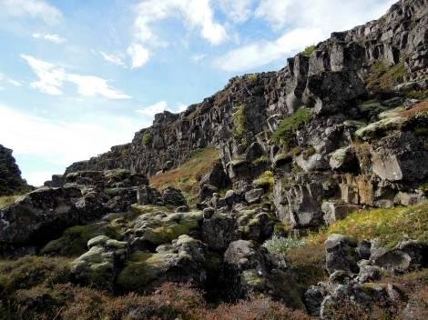 Rocky cliff