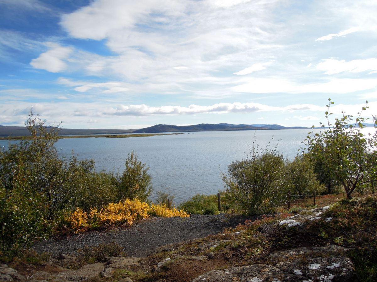 View of Lake Þingvellir