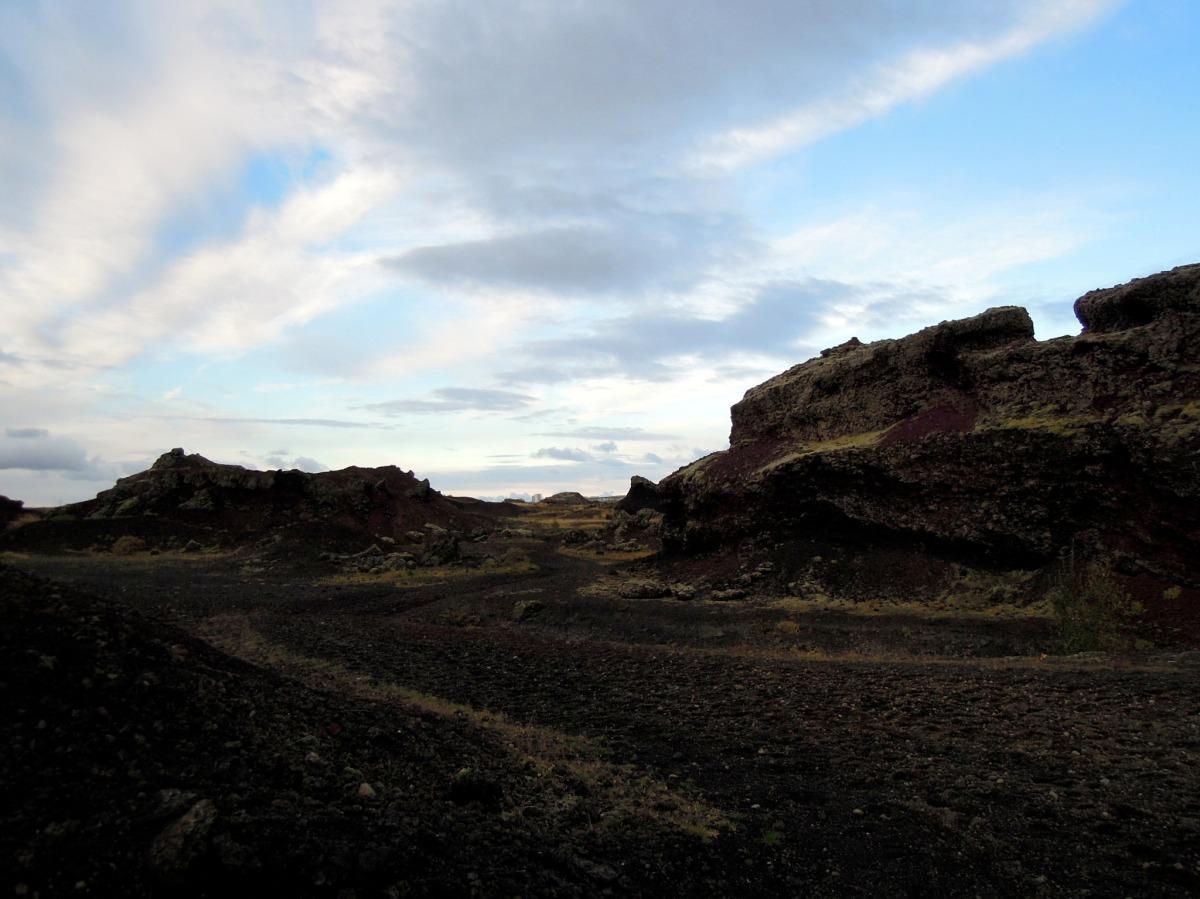 The red hills of Rauðhólar