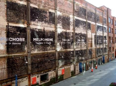 Southbank wall art