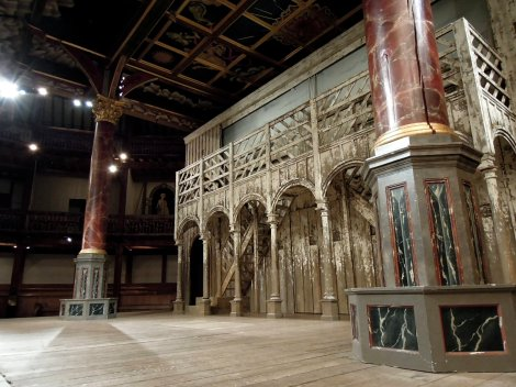 Stage at Shakespeare's Globe