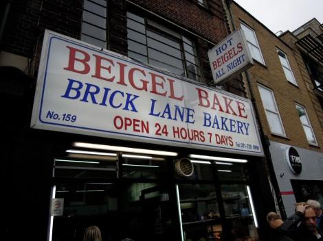 Beigel Bake on Brick Lane