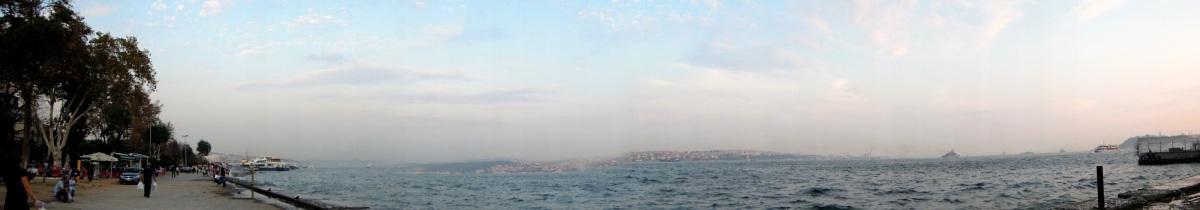 Panorama of the Bosphorus