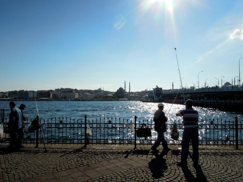 Fishermen on the Golden Horn