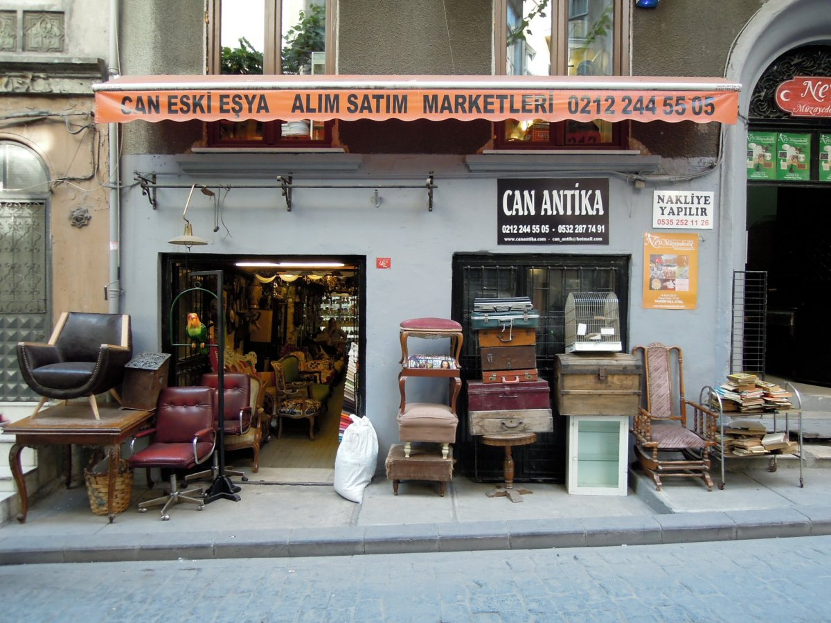 One of the many antique/vintage shops around Cihangir