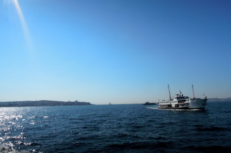 Boat on the Bosphorus
