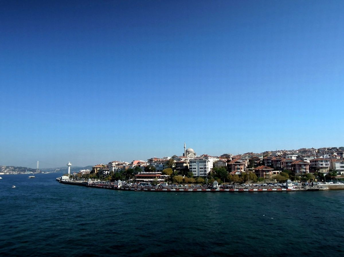View of the Asian side from the Maiden's Tower