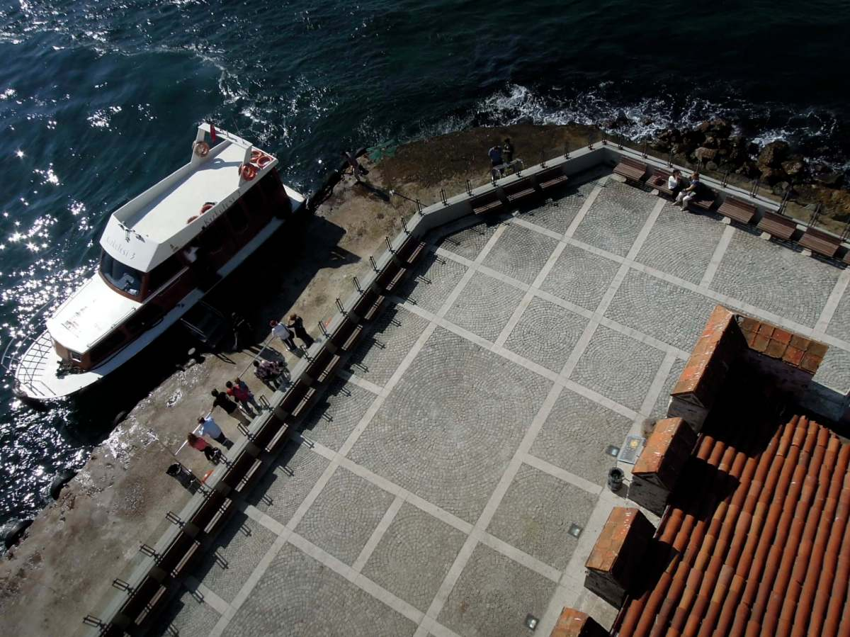 View from the top of the Maiden's Tower