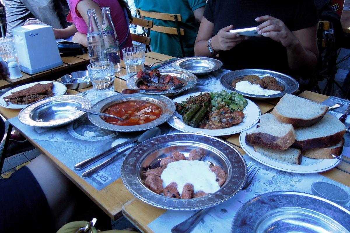 Lunch at Çiya