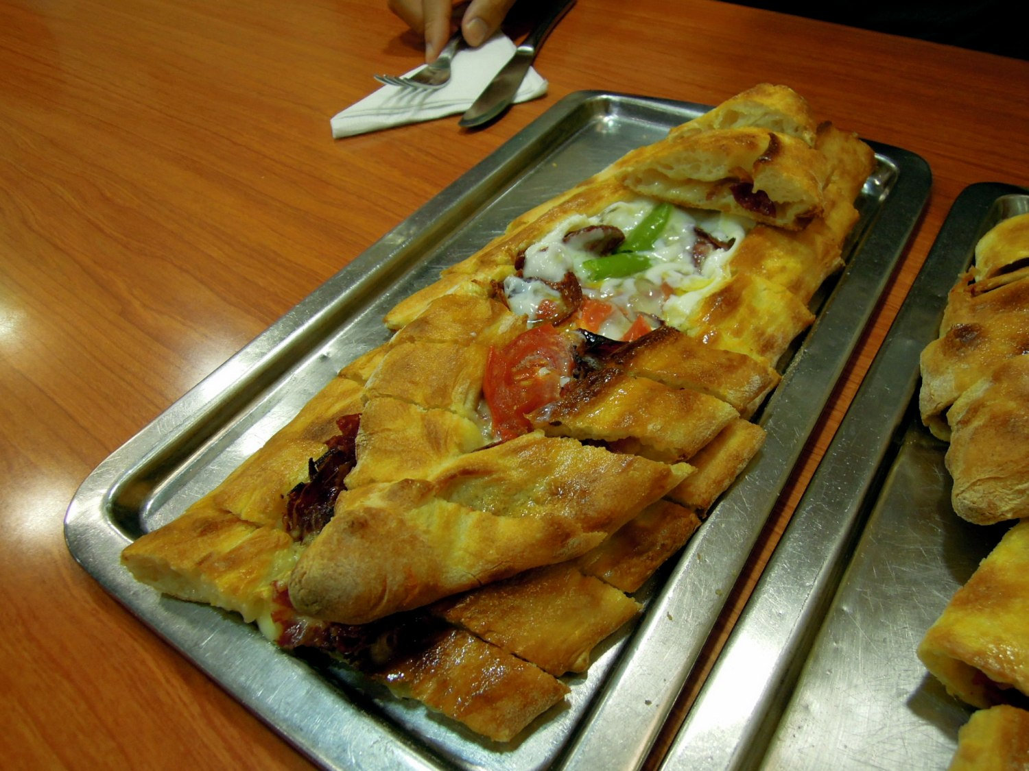 Mixed pide