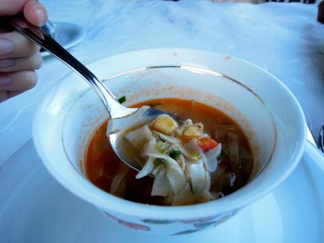 Uighur noodle soup