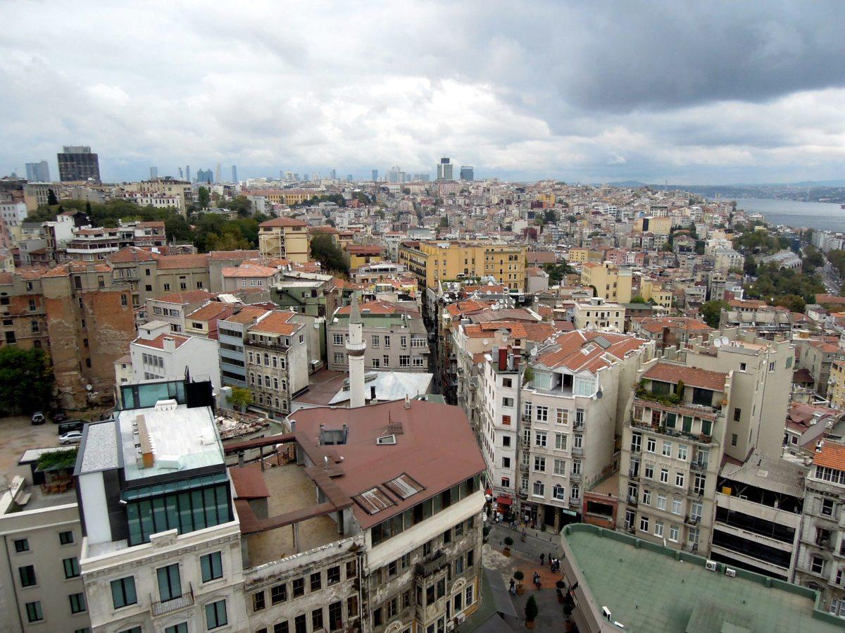 View of Beyoğlu rooftops