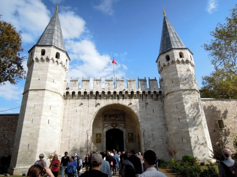 Entrance of Topkapı Palace