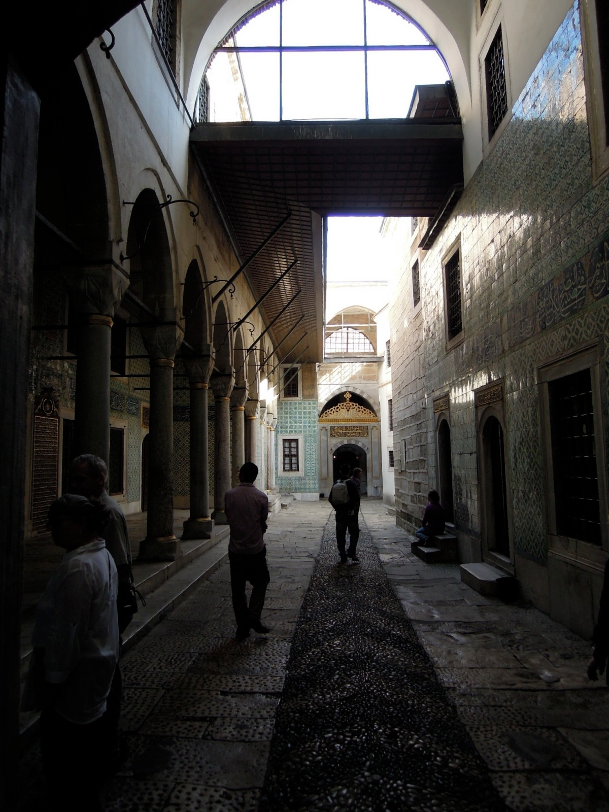 Entrance to the harem