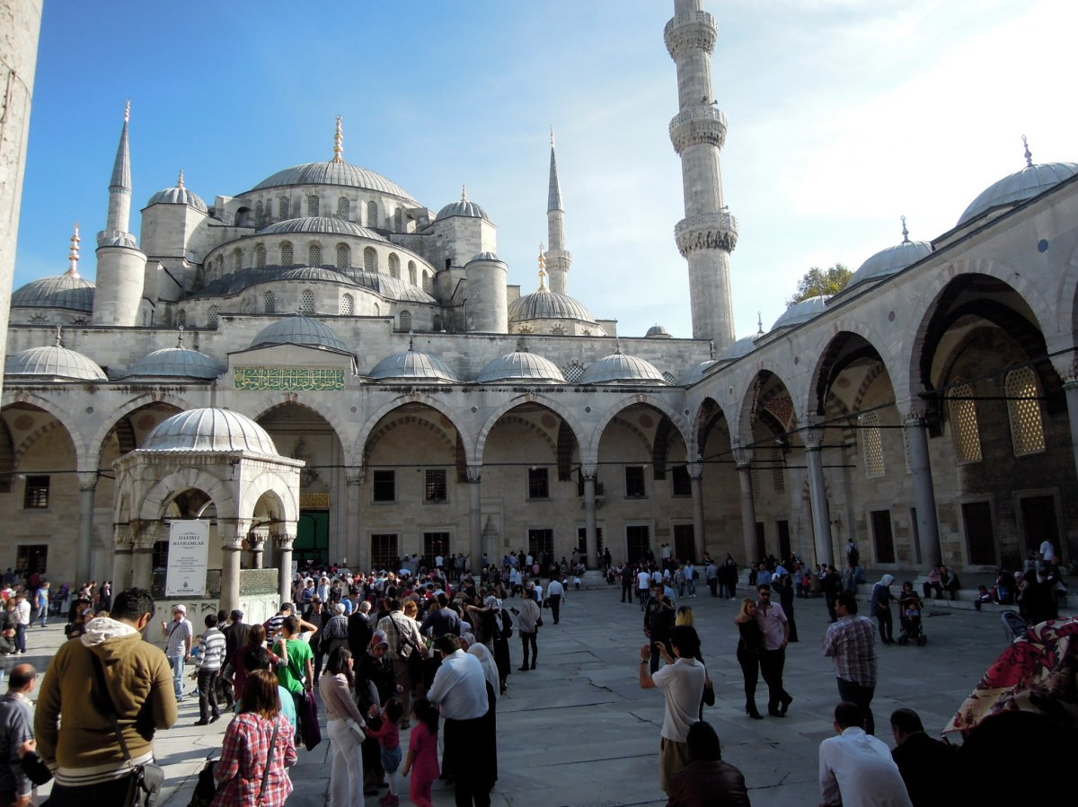 Courtyard of the Blue Mosque