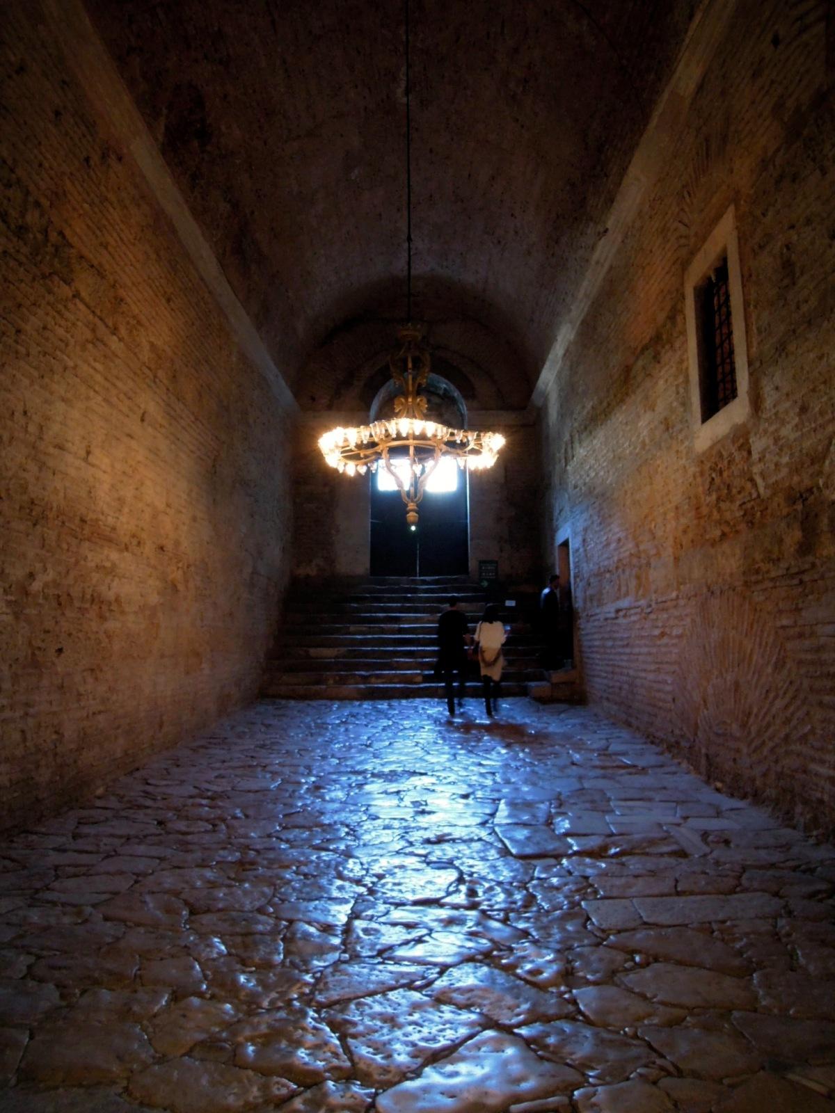 Passageway in the Aya Sofya