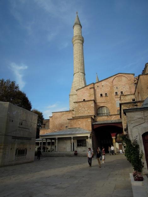 Outside the Aya Sofya