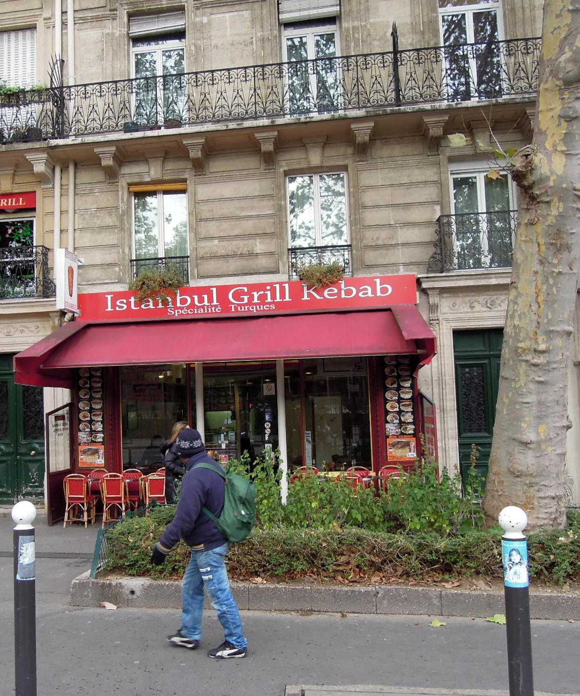 Turkish restaurant in Paris