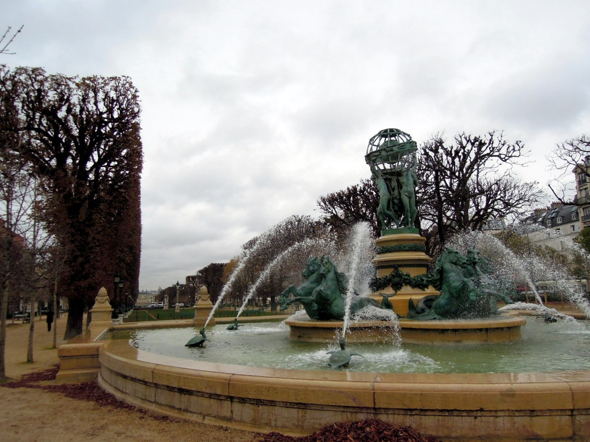 Fountain at the Jardin du Luxembourg