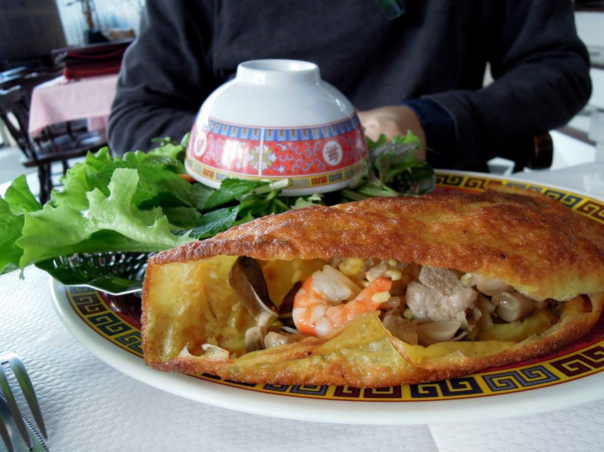 Banh xeo, Vietnamese crepe