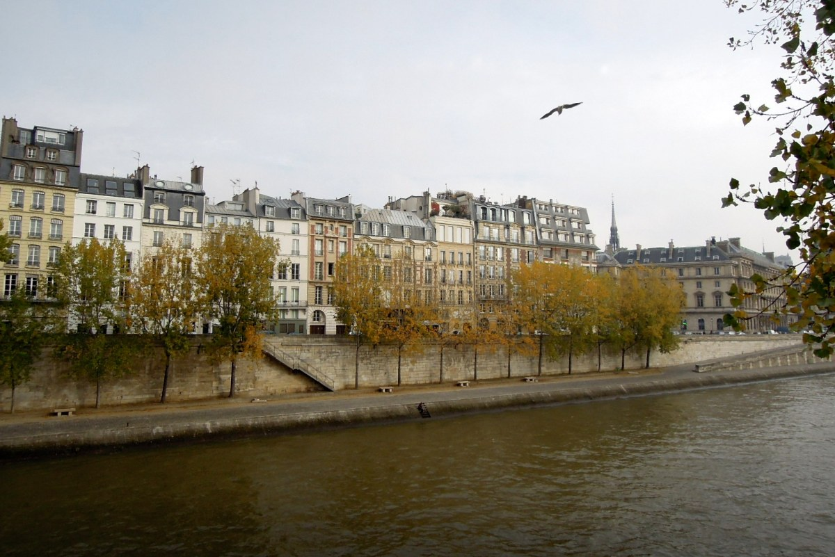 Buildings along the Seine