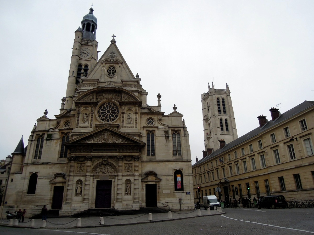 Church of Saint Etienne du Mont