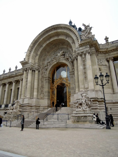 Entrance to the Petit Palais