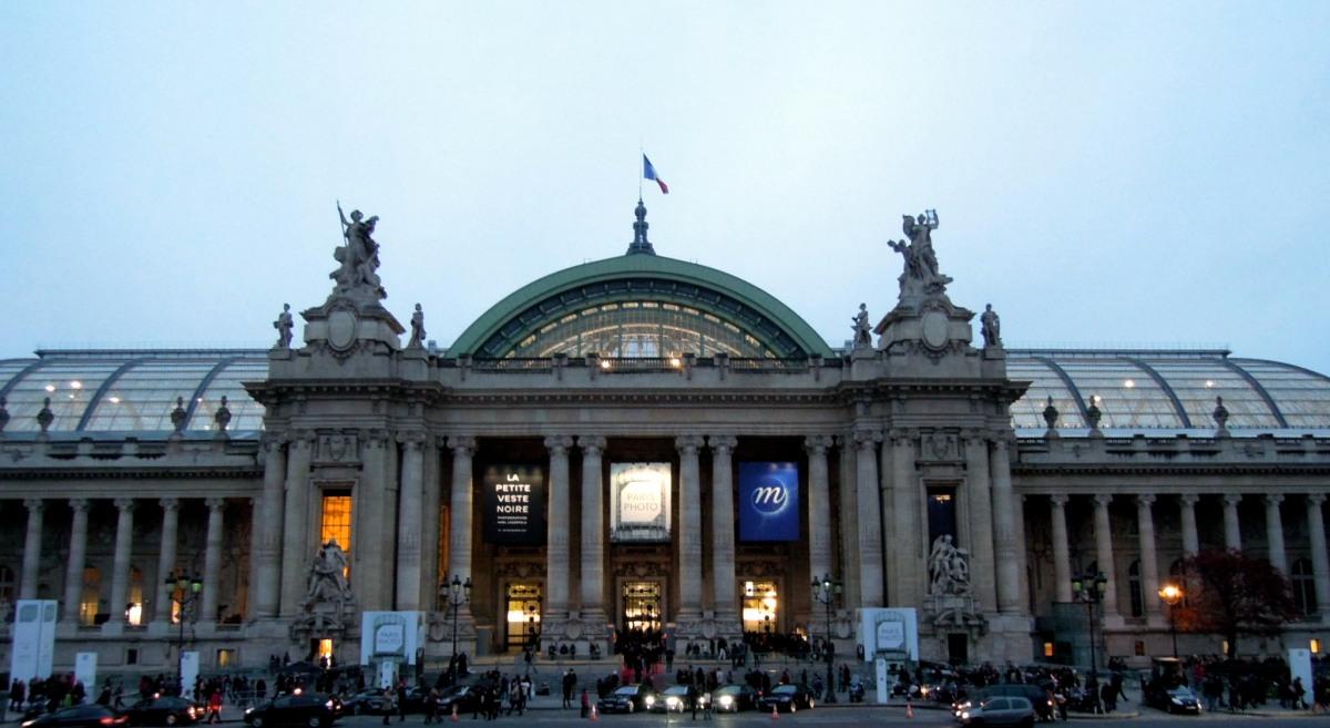 Grand Palais at evening