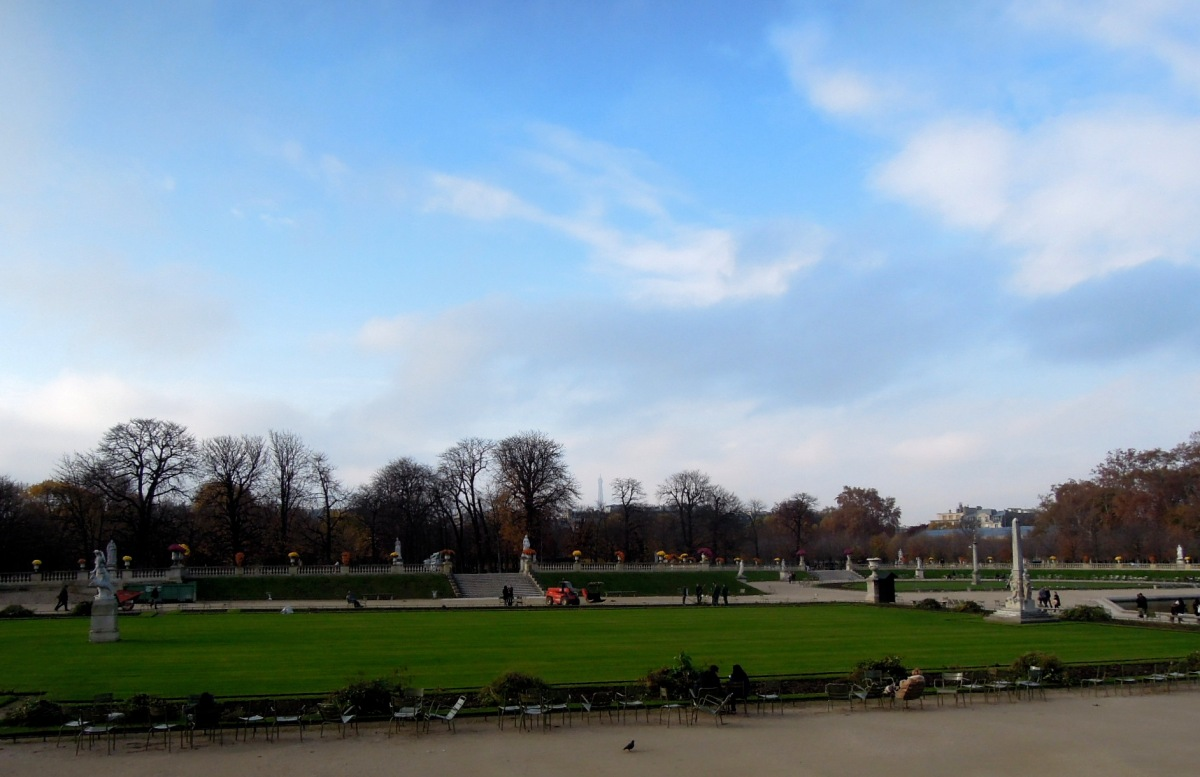 Luxembourg Palace gardens