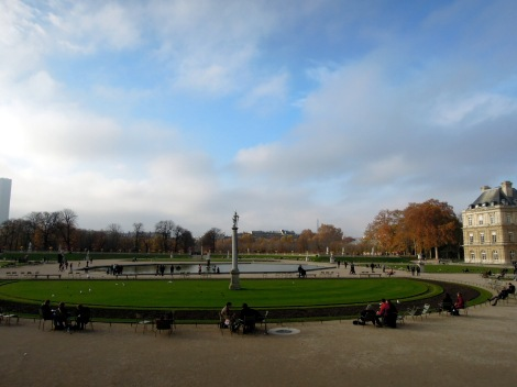 Gardens in front of Luxembourg Palace
