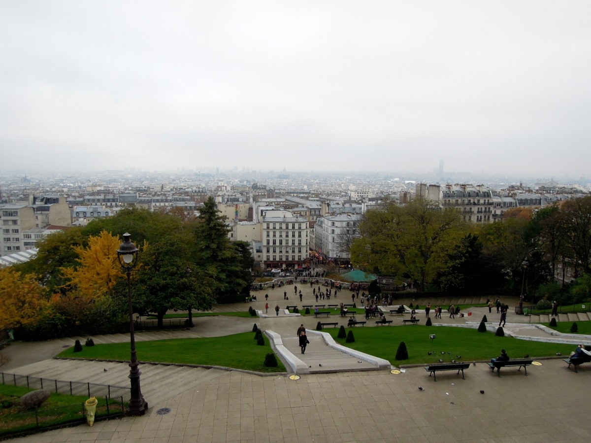 View from near the top of the hill