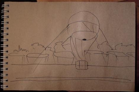 Awkward sketch