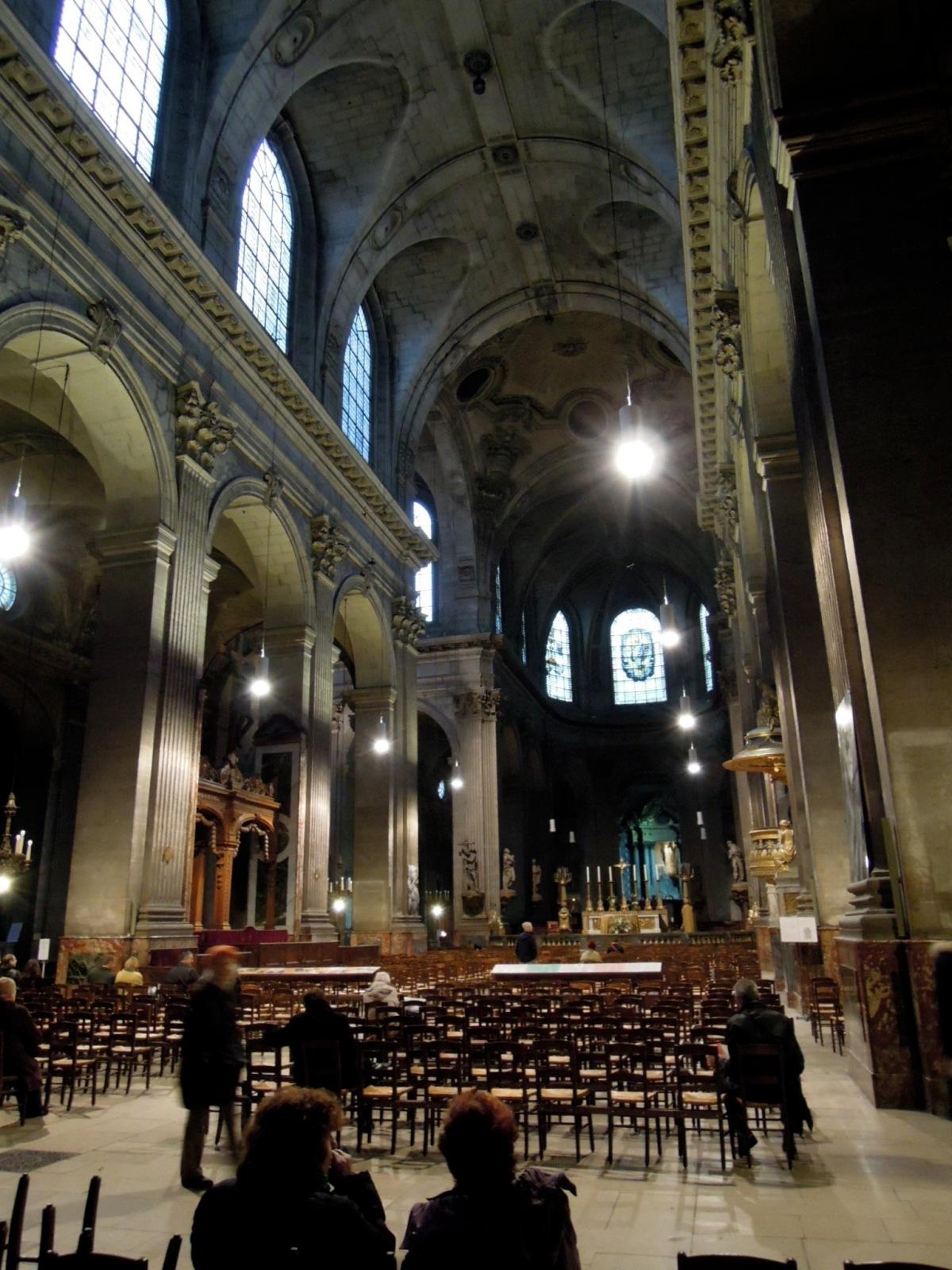 Inside Saint-Sulpice