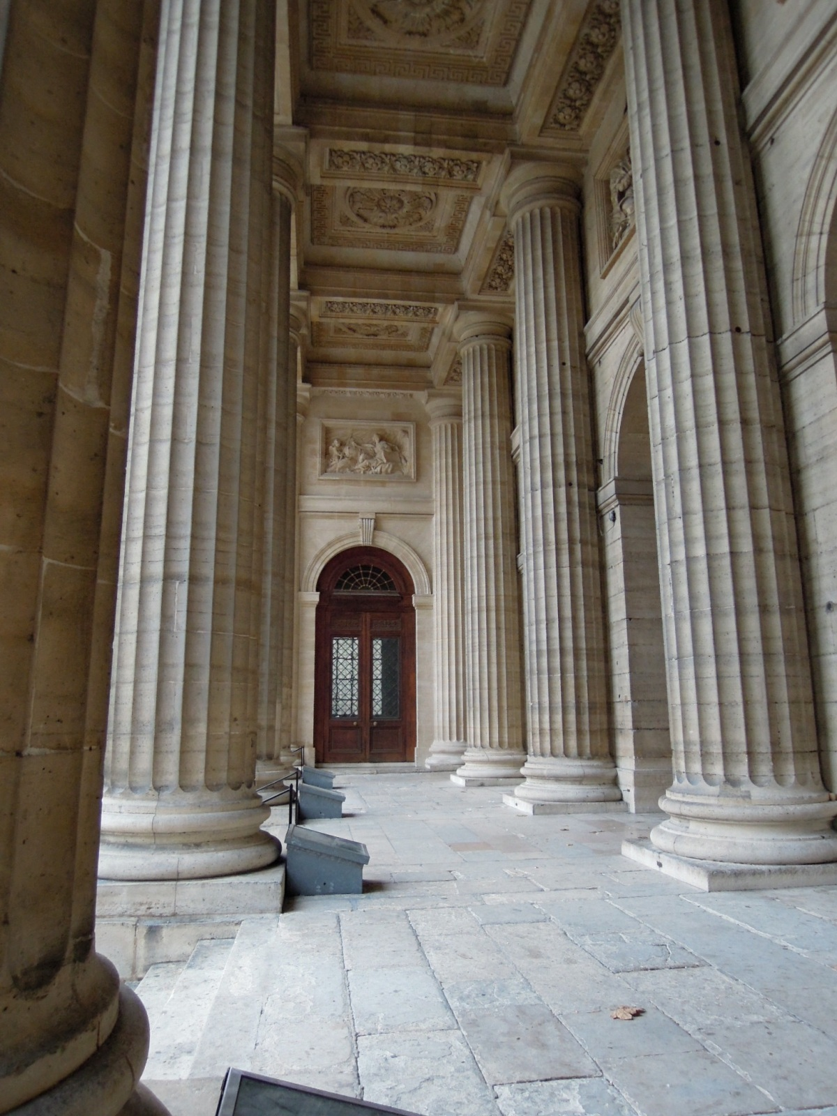 Columns outside the entrance to Saint-Sulpice
