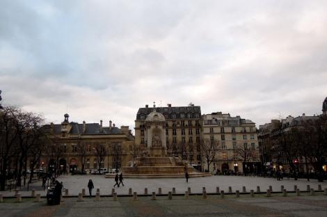 Place de Saint-Sulpice with fountain