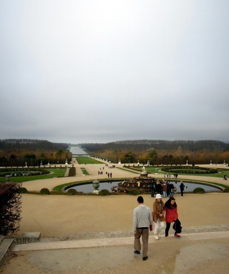 View of the Grand Canal at Versailles