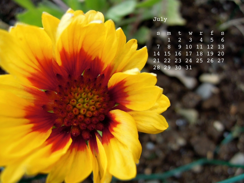 July from the Botanical calendar
