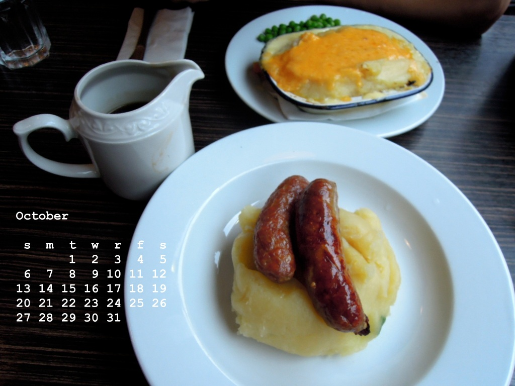 October from the Food calendar
