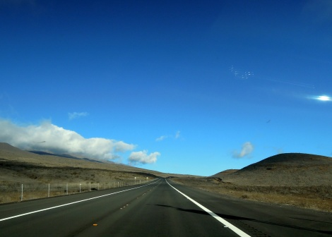 Saddle Road near Mauna Kea