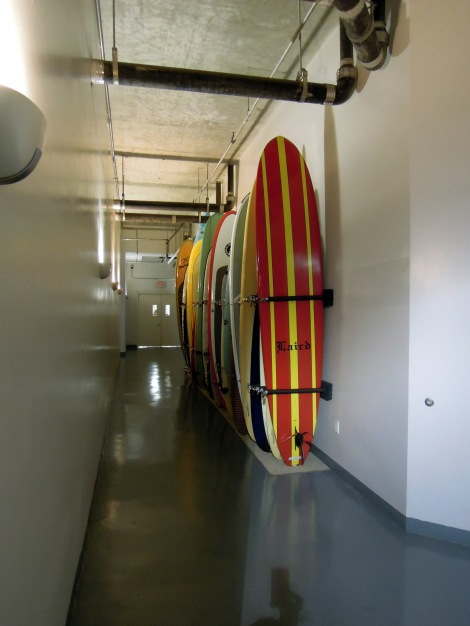 "Surfboard ""parking"""