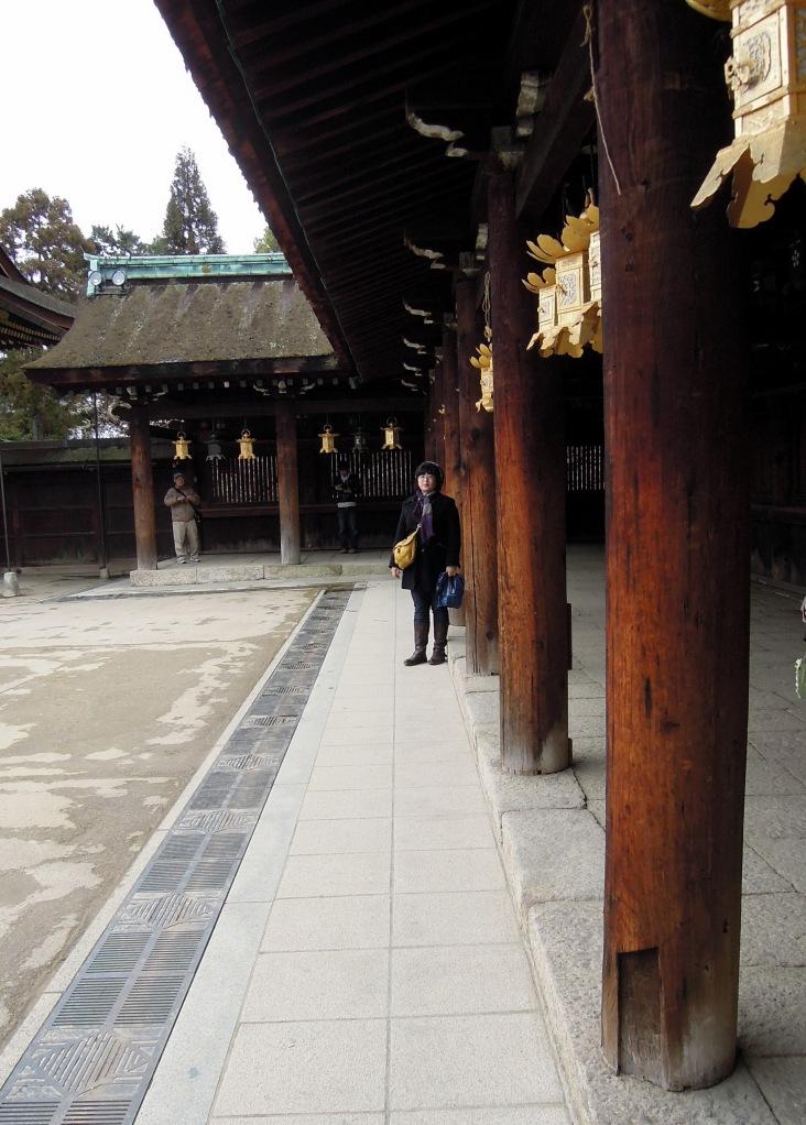 Lisa at Kitano Tenman-gū