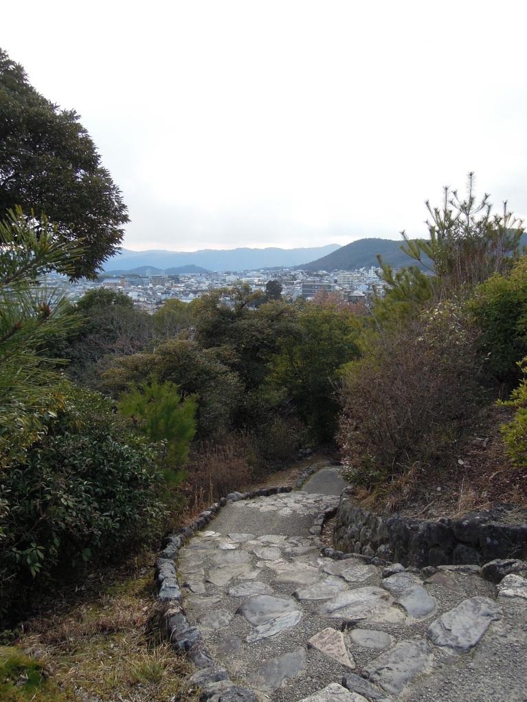 Cobble-y trail